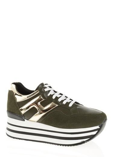 Derigo Platform Ayakkabı Yeşil